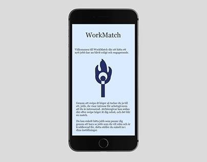 UX/UI Design WorkMatch
