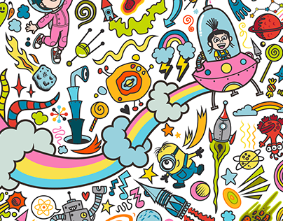 Illumination Entertainment - Interactive Coloring Wall