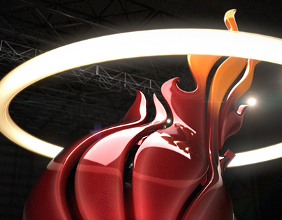 NBA on ESPN  - 3D Logo Design/Animation [part 1]