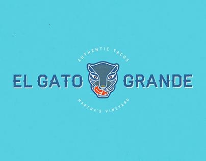 El Gato Grande Taco Truck Branding