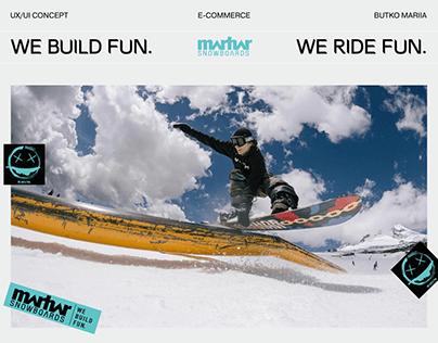 MARHAR SNOWBOARDS | E-commerce