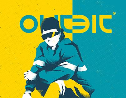 Illustration streetwear / OUTBIT