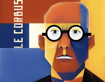 Poster Le Corbusier