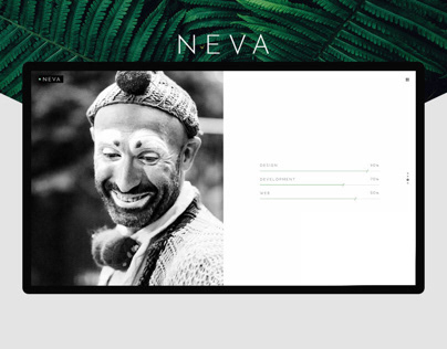 Neva - An Alluring Multipurpose Creative Theme