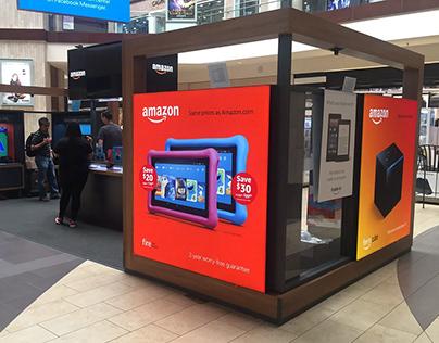 Amazon Pop-Up Kiosk - Brea Mall