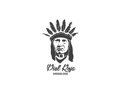 Logo for handmade shoes brand Piel Roja