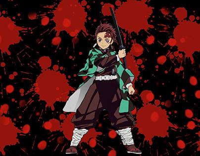 kimetsunoyaiba (animeart)