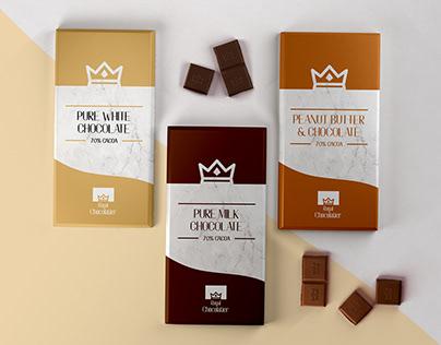 Royal Chocolatier Branding Design Project