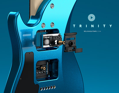 Relish Guitars - Trinity (Full-CGI Animation)