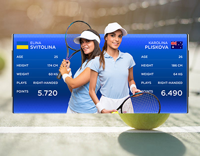 Tennis Graphics Package