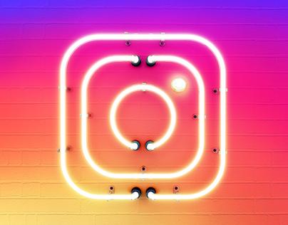 Instagram - Neon Sign