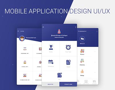 PGC - Mobile App Mockup UI/UX