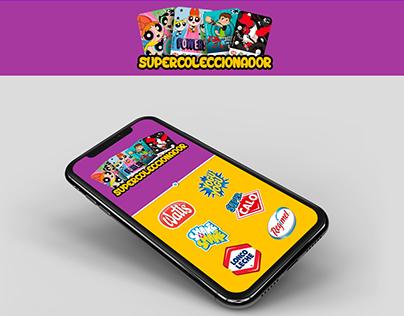Supercoleccionador RA app mobile