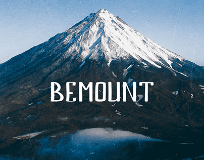 BEMOUNT free font