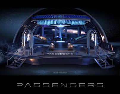 PASSENGER- Movie Road Show display