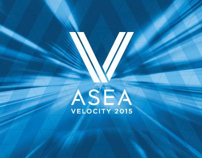 ASEA Velocity 2015 Branding & Event Signage