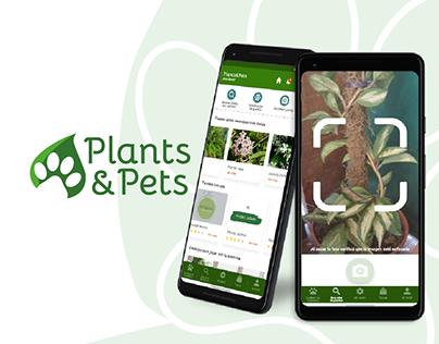 Plants&Pets l Diseño UX/UI - Florencia Berella