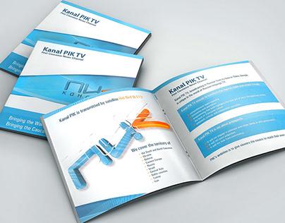 Promotional Brochure for PIK TV