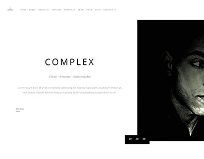 COMPLEX-Bootstrap theme