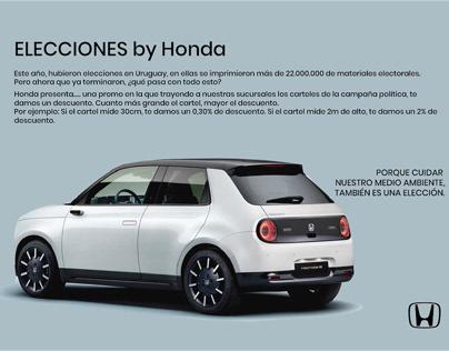 Elecciones - Honda