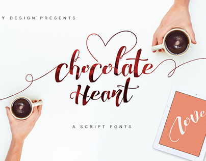 Chocolate Heart Free Font