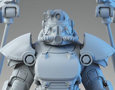 Fallout T-51 Power Armor USB Hub