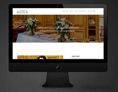 Site - Restaurante da Paula - WordPress