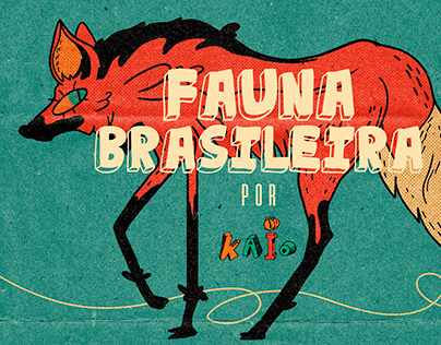 COLLAB FAUNA BRASILEIRA - Por Kaio Moreira