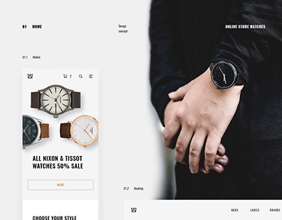 Online store - watches