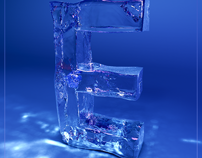 36 Days of Type Challenge: E: 3D Ice