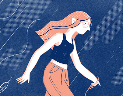 Girls illustrations