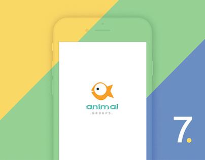 Animal Groups - Biology MobileApp for Self-learning