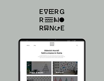 Evergreen Orange - Brand identity & web site