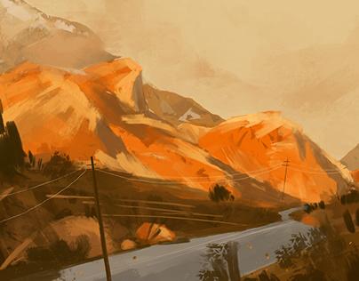Speed painting set I
