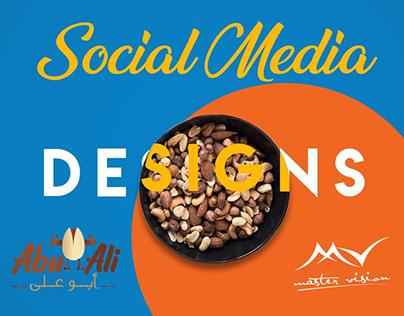 ABU ALI ٍSocial Media + logo