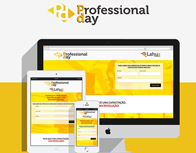 Landing Page - Professional Day
