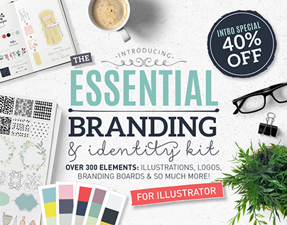 The Essential branding & identity kit