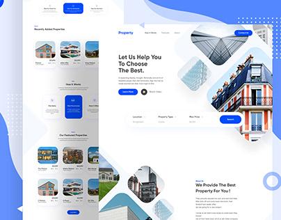 Property - Real Estate Landing Page