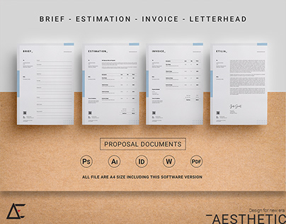 Proposal Document Templates vol-02