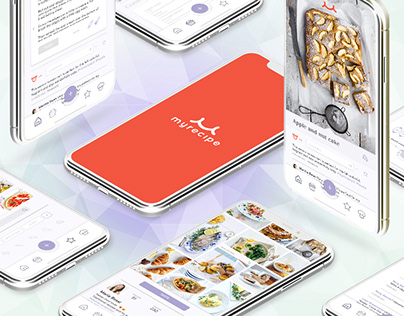 Myrecipe - App Design