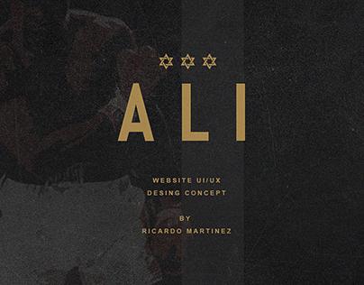 Muhammad Ali - DESING UX
