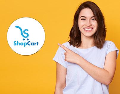 Shop Cart Logo-S Letter Logo
