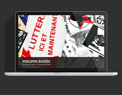 Site WordPress Philippe Roizès