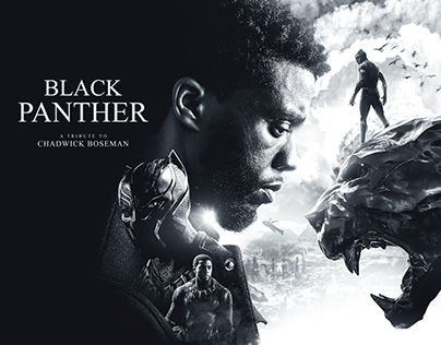 Black Panther - Tribute to Chadwick Boseman