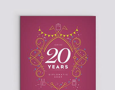 Diplomatic Store 20th Anniversary