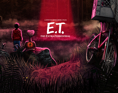 E.T. (officially licensed poster)