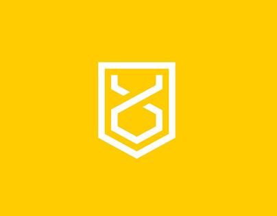 GoldenOx — Logo
