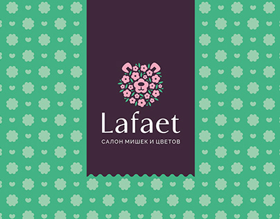 Flower shop identity