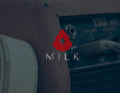 Logo Milk Band