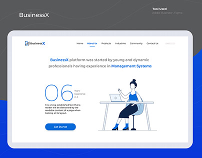 BusinessX About Us Page